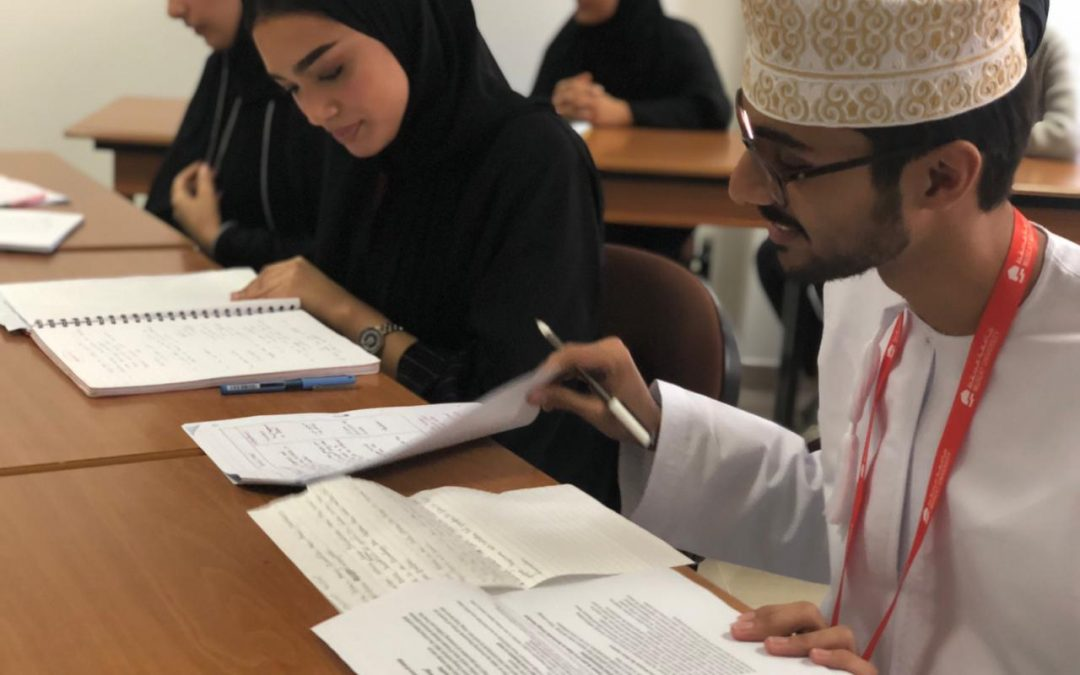 Muscat University celebrates the successful end to its first Pre-sessional English Programme for postgraduate students