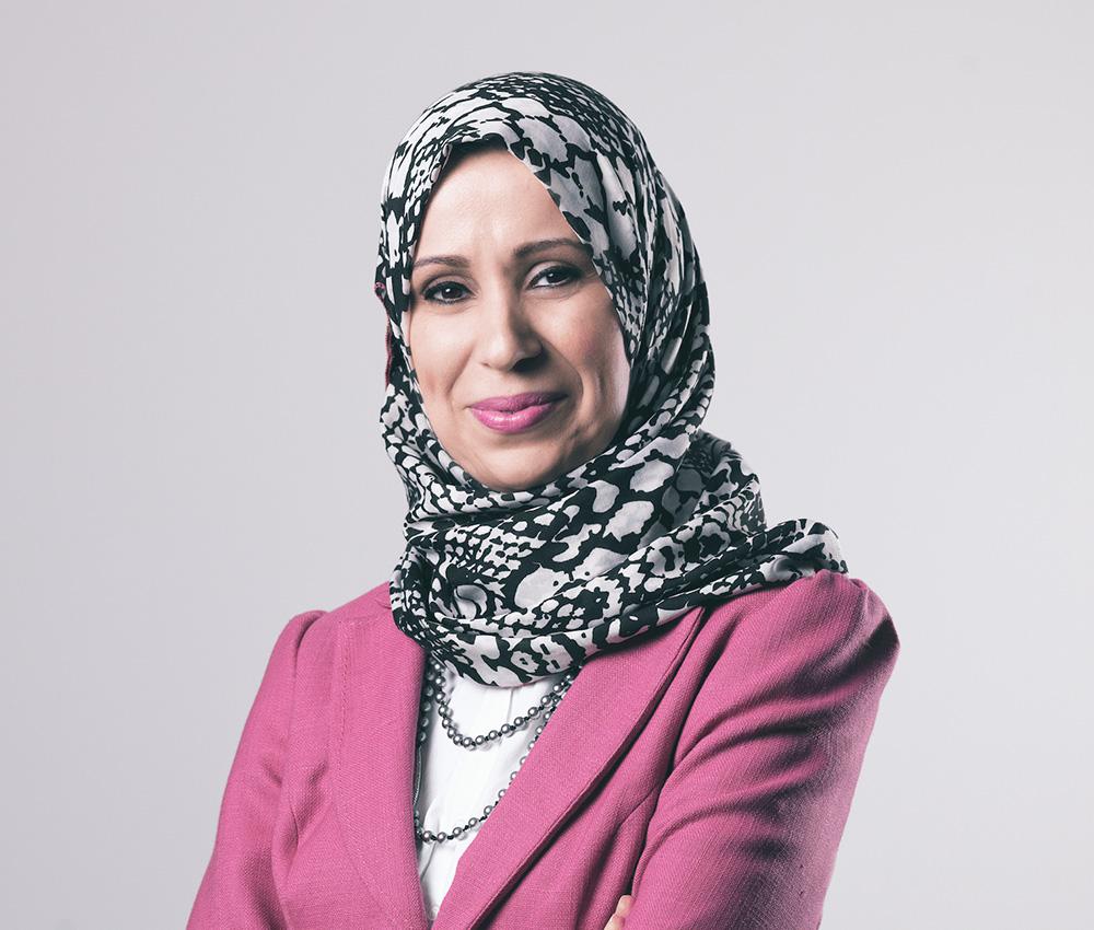 Professor Yusra Mouzughi